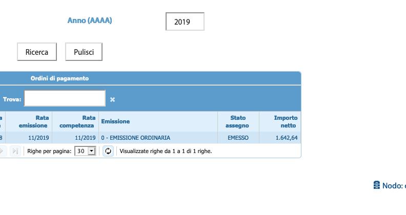 Cedolino di novembre 2019: già visibile l'importo su NoiPA