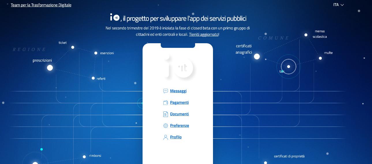 Dopo NoiPA, PagoPA arriva l'App IO